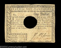 Colonial Notes:New Hampshire, New Hampshire April 29, 1780 $1 Extremely Fine. Canceled ...