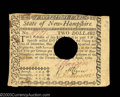 Colonial Notes:New Hampshire, New Hampshire April 29, 1780 $2 Extremely Fine. Canceled ...