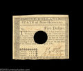 Colonial Notes:New Hampshire, New Hampshire April 29, 1780 $5 Choice About New. There ...