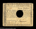 Colonial Notes:New Hampshire, New Hampshire April 29, 1780 $7 Very Fine. The typical ...