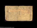 Colonial Notes:New Jersey, New Jersey November 20, 1757 15s Fine. The corners are ...
