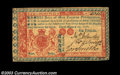 Colonial Notes:New Jersey, New Jersey March 25, 1776 L6 Extremely Fine. The bold red ...