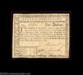 Colonial Notes:New Jersey, New Jersey June 9, 1780 $1 Choice Extremely Fine. Fully ...