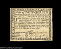 Colonial Notes:New Jersey, New Jersey June 9, 1780 $20 Extremely Fine. Fully signed ...