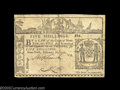 Colonial Notes:New York, Three New York February 16, 1771 Notes. 5s Very Fine ... (3 notes)