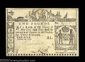 Colonial Notes:New York, New York February 16, 1771 L2 Extremely Fine, Repaired. ...
