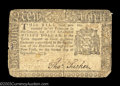 Colonial Notes:New York, New York September 2, 1775 $1 Fine. Rounded corners are ...
