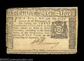 Colonial Notes:New York, New York September 2, 1775 $3 Choice Very Fine. There is a ...