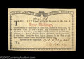 Colonial Notes:New York, New York January 6, 1776 4s Gem New. Beautifully margined, ...