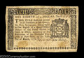 Colonial Notes:New York, New York March 5, 1776 $1/8 Choice Very Fine. An ...