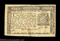 Colonial Notes:New York, New York March 5, 1776 $1/3 Choice Extremely Fine. A ...
