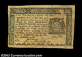 Colonial Notes:New York, New York March 5, 1776 $1/3 Extremely Fine. Well printed ...