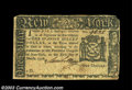 Colonial Notes:New York, New York March 5, 1776 $1 Very Fine. Circulated and with a ...