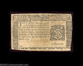 Colonial Notes:New York, New York March 5, 1776 $3 Very Fine. There is a repaired ...