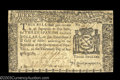 Colonial Notes:New York, New York August 13, 1776 $3 Very Fine. Closely margined ...