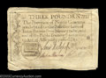 Colonial Notes:North Carolina, North Carolina December 1771 L3 Extremely Fine. Well ...