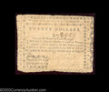 Colonial Notes:North Carolina, North Carolina August 8, 1778 $20 Very Fine. A problem-...
