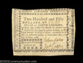 Colonial Notes:North Carolina, North Carolina May 15, 1779 $250 About New. Separated from ...