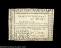 Colonial Notes:North Carolina, North Carolina May 10, 1780 $25 Extremely Fine. This $25 ...