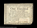 Colonial Notes:North Carolina, North Carolina May 10, 1780 $100 Extremely Fine. This is ...