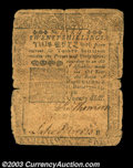 Colonial Notes:Pennsylvania, Pennsylvania April 25, 1759 20s Very Good. Ragged about ...