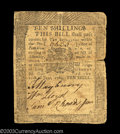 Colonial Notes:Pennsylvania, Pennsylvania June 18, 1764 10s About Very Fine. A solid ...