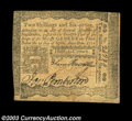 Colonial Notes:Pennsylvania, Pennsylvania April 3, 1772 2s6d Extremely Fine. An ...