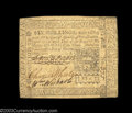 Colonial Notes:Pennsylvania, Pennsylvania March 25, 1775 6s Extremely Fine. This is the ...
