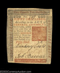 Colonial Notes:Pennsylvania, Pennsylvania April 10, 1775 50s Extremely Fine. A nice ...