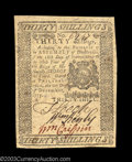 Colonial Notes:Pennsylvania, Pennsylvania December 8, 1775 30s About New. This beauty ...