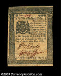 Colonial Notes:Pennsylvania, Pennsylvania April 25, 1776 1s Extremely Fine. Closely ...
