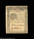 Colonial Notes:Pennsylvania, Two Pennsylvania April 25, 1776 notes. 1s and 2s, both ... (2notes)