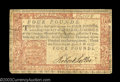 Colonial Notes:Pennsylvania, Two Pennsylvania April 10, 1777 notes. A Small Change 3d ... (2notes)