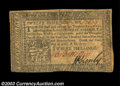 Colonial Notes:Pennsylvania, Pennsylvania April 10, 1777. Two notes, both printed in ... (2notes)