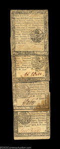 Colonial Notes:Pennsylvania, Pennsylvania April 10, 1777. Four nice Small Change notes: ... (4notes)