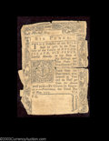 Colonial Notes:Rhode Island, Rhode Island May 3, 1775 6d Very Good. Rare in all grades, ...