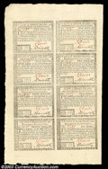 Colonial Notes:Rhode Island, Rhode Island July 2, 1780 Half Sheet of Eight Choice About ...