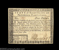 Colonial Notes:Rhode Island, Rhode Island July 2, 1780 $4 Choice New. Well margined, ...
