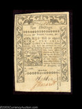 Colonial Notes:Rhode Island, Rhode Island 1786 Notes. A 5s and a 10s from the same ... (2 notes)