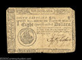 Colonial Notes:South Carolina, South Carolina December 23, 1776 $8 Fine. Closely margined ...