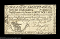 Colonial Notes:South Carolina, South Carolina February 8 1779 $60 Extremely Fine. The ...