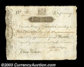 Colonial Notes:Virginia, Virginia March 4, 1773 L3 Extremely Fine. This is the ...