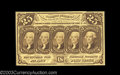 Fractional Currency:First Issue, Fr. 1282 25c First Issue Very Choice New. Decently ...
