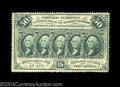 Fractional Currency:First Issue, Fr. 1310 50c First Issue Very Choice New. This perforated ...