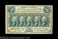 Fractional Currency:First Issue, Fr. 1310 First Issue 50c Choice New. Deeply perforated all ...