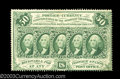 Fractional Currency:First Issue, Fr. 1311 50c First Issue New. A very scarce note with good ...