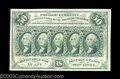 Fractional Currency:First Issue, Fr. 1312 50¢ First Issue Gem New. Hugely margined, very ...