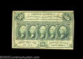 Fractional Currency:First Issue, Fr. 1312 50¢ First Issue Very Fine. Bisected near the ...