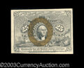Fractional Currency:Second Issue, Fr. 1286 25c Second Issue Very Choice New. If the bottom ...