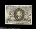 Fractional Currency:Second Issue, Fr. 1290 25c Second Issue Very Choice New. The top margin ...